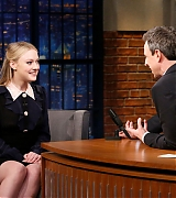 dakota fanning, seth meyers, 2018, the alienist