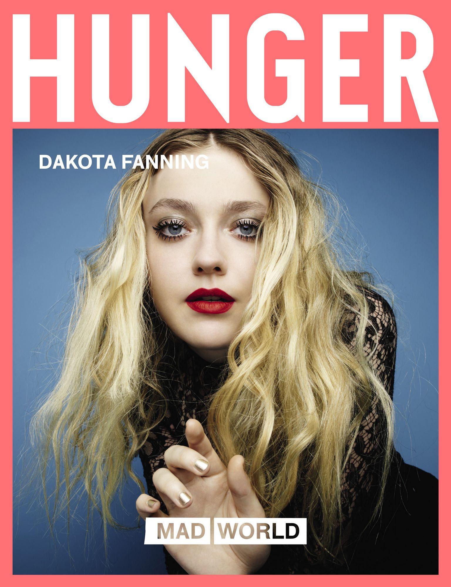 dakota fanning, rankin, hunger magazine, 2017