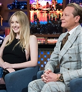 dakota fanning, watch what happens live, 2018