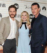 dakota fanning, daniel bruhl, luke evans, the alienist, fyc