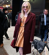 dakota fanning, candids, good morning america, 2018