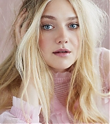 dakota fanning, marie claire uk, photoshoot, january 2018