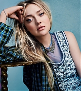 dakota fanning, vogue australia, 2018, outtakes