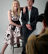 dakota fanning, the alienist, variety, actors on actors, freddie highmore
